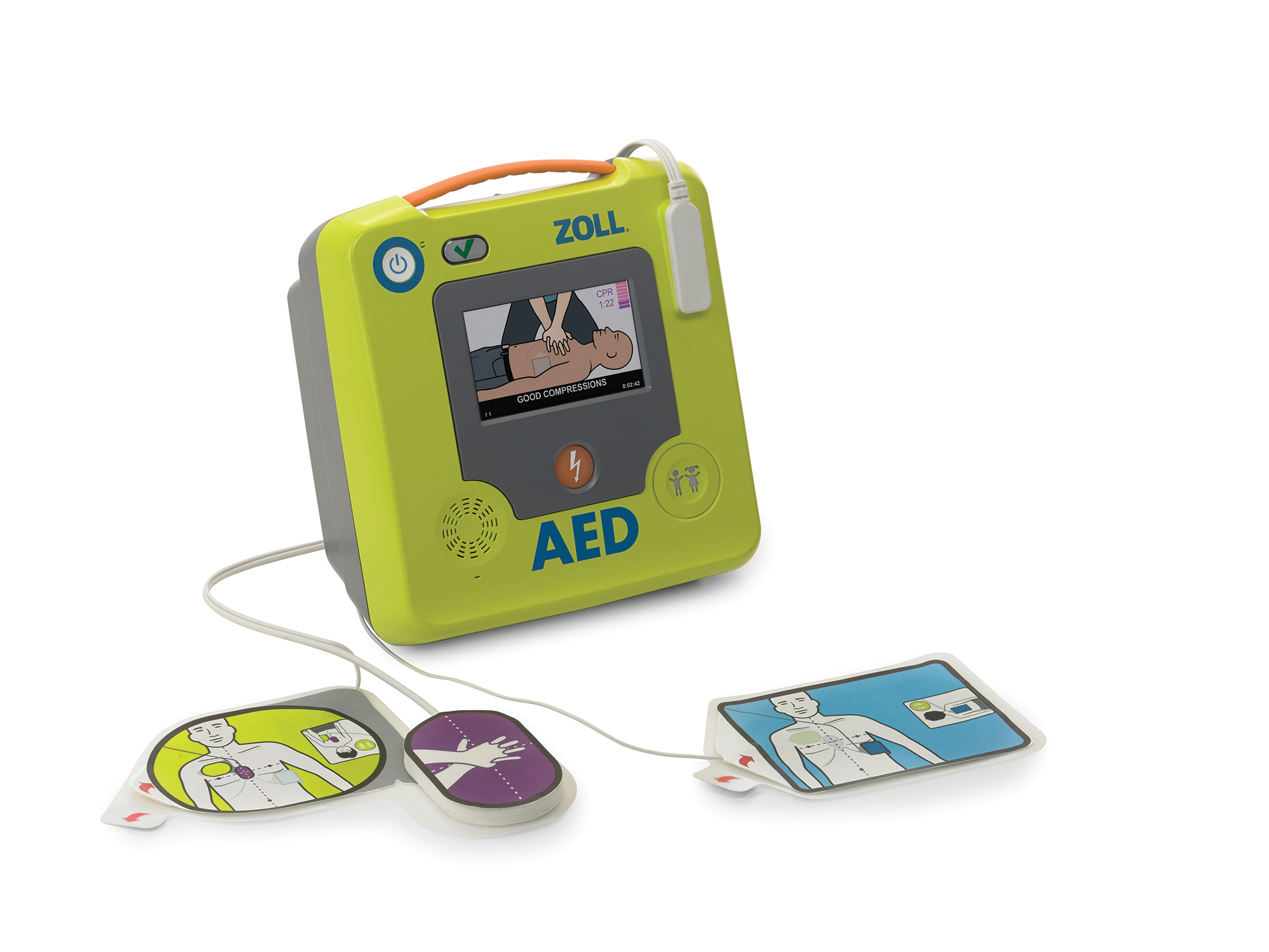 ZOLL AED 3 Semi Automatic with Electrodes 1