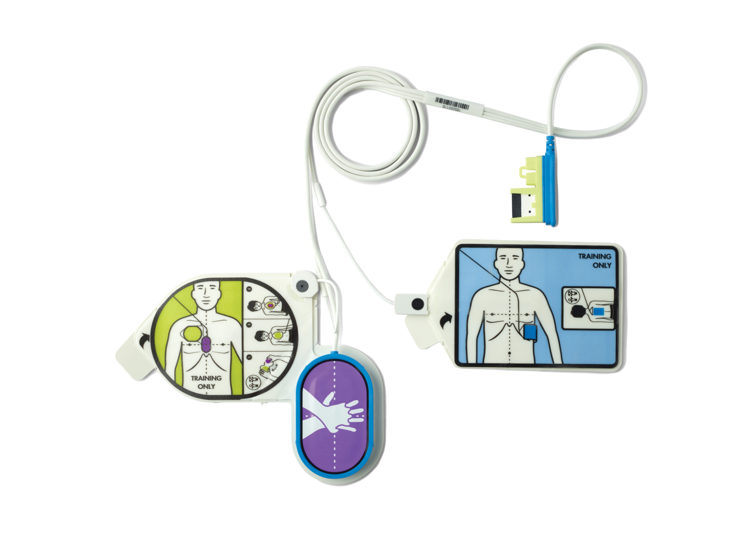 ZOLL AED 3 Trainer Electrodes complete