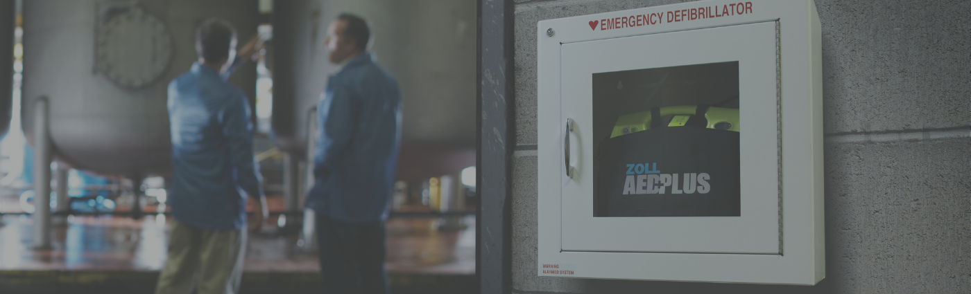 AED Cabinet & Signage
